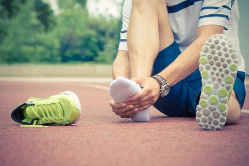 Douleurs du pied chez un sportif à Périgueux